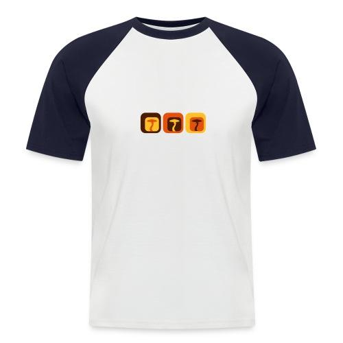 Shroom Lounge - Kurzärmeliges Baseballshirt - Männer Baseball-T-Shirt