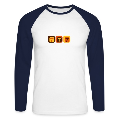 Shroom Lounge - Langärmeliges Baseballshirt - Männer Baseballshirt langarm