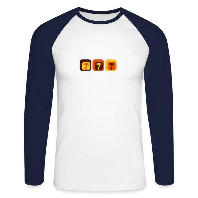 Shroom Lounge - Langärmeliges Baseballshirt