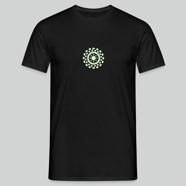 Tshirt Iron Man Phosphorescent