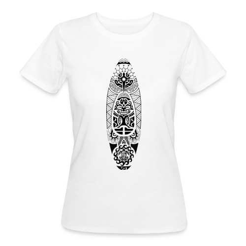 T-shirt kayak maori II Femme - T-shirt bio Femme