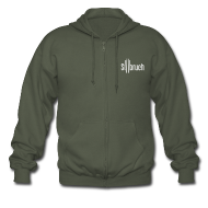 Pullover & Hoodies ~ Männer Premium Kapuzenjacke ~ Stilbruch-Fanjacke (M)