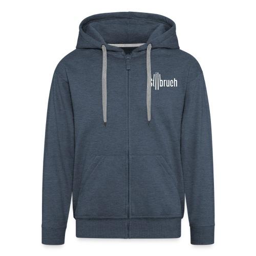 Stilbruch-Fanjacke (M) - Männer Premium Kapuzenjacke
