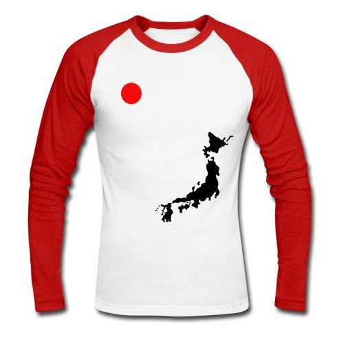 Maglia - Japan Love - Maglia da baseball a manica lunga da uomo