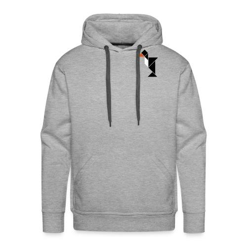 tangram_pinguin - Men's Premium Hoodie