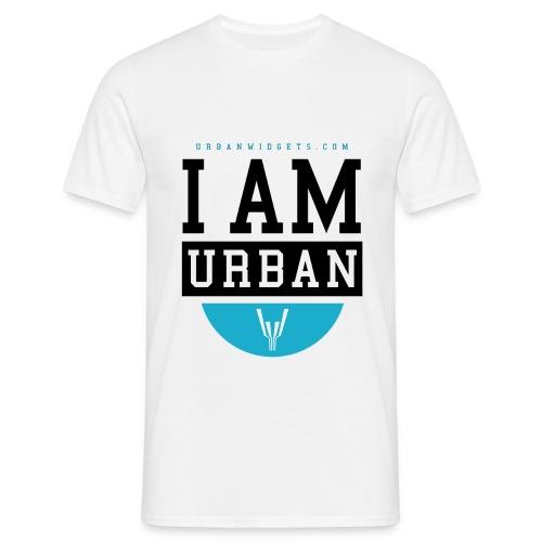 i Am Urban I Blue - Summer - Männer T-Shirt