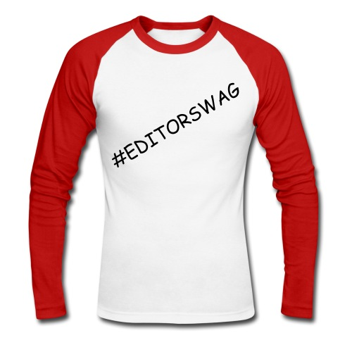 Dat' Editor SWAG - Men's Long Sleeve Baseball T-Shirt