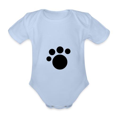 Paw Baby One-Piece - Organic Short-sleeved Baby Bodysuit