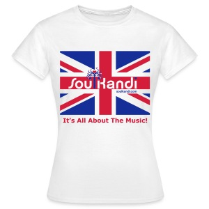 Ladies Union Jack Classic Tee - Women's T-Shirt