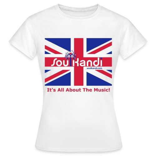 Ladies Union Jack Classic Tee - Women's T-Shirt