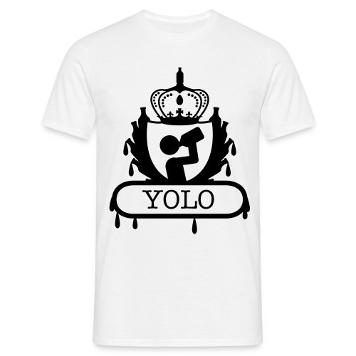 Drinking YOLO - Men's T-Shirt