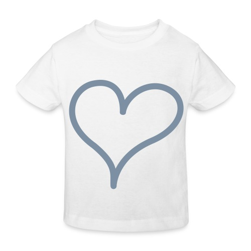 Coeur - T-shirt bio Enfant