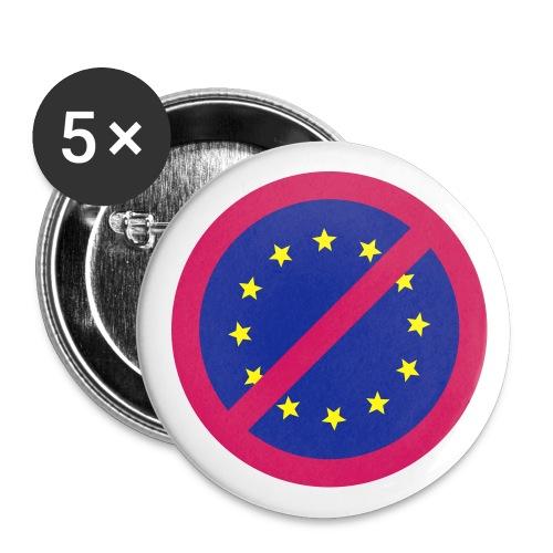 EU - nein danke! - Buttons groß 56 mm