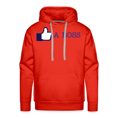Limited Edition LIKE A BOSS SHIRT - Premiumluvtröja herr