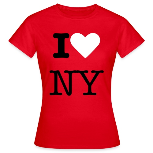 I Love New York T-shirt - Women's T-Shirt