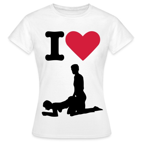 I Love Sex T-shirt - Women's T-Shirt