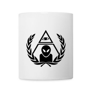 all seeing alien - Tasse