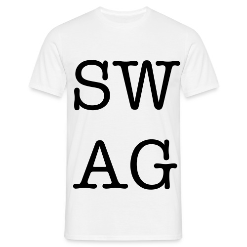 SWAG T-shirt. - Mannen T-shirt
