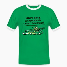 Midlife Crisis Frosch  T-Shirts