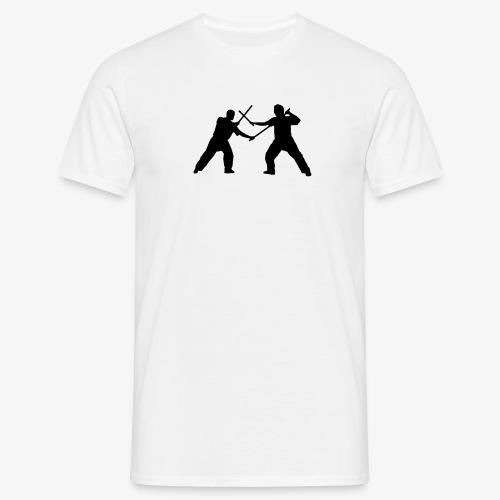 Eskrima | Doppelstock - Männer T-Shirt