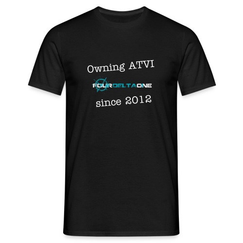 Owning ATVI since 2012 - Men's T-Shirt