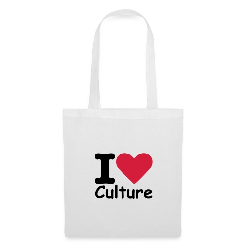 Shopper I love culture - Borsa di stoffa