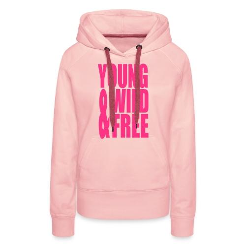 TS wild vest - Vrouwen Premium hoodie