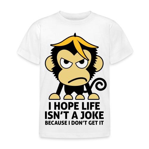 TS Monkey KIDS  - Kinderen T-shirt