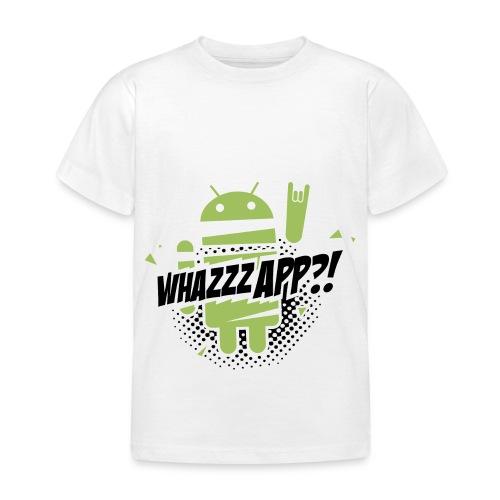 TS wazzapp shirt - Kinderen T-shirt
