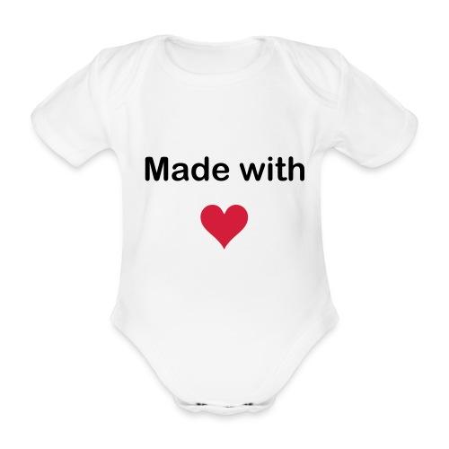 tee shirt bébé avec motifs - Body bébé bio manches courtes