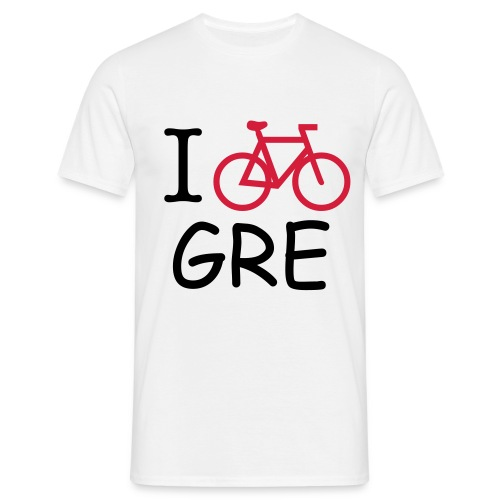 T-SHIRT HOMME BICYCLE IN GRENOBLE- BLANC - T-shirt Homme