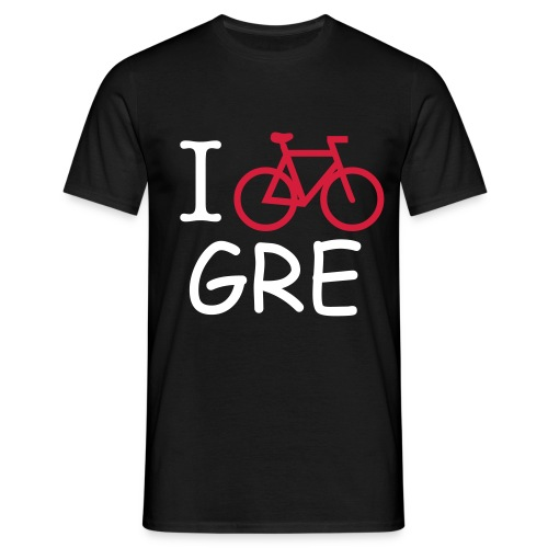 T-SHIRT HOMME BICYCLE IN GRENOBLE- NOIR - T-shirt Homme