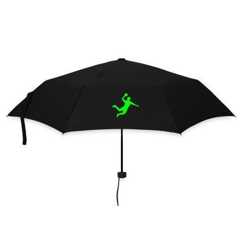 Schirm-  grüner Handballer - Regenschirm (klein)