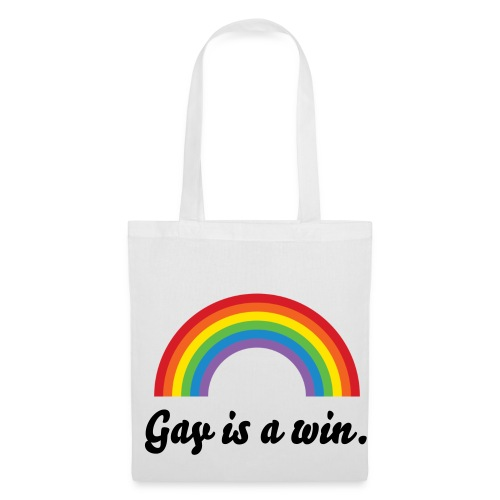 Gay is a win - Tote Bag - White - Tote Bag