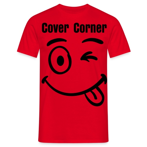 Cover Corner Smiley - Men's T-Shirt