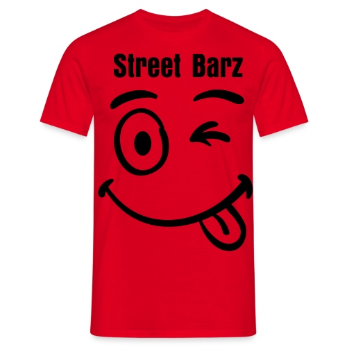 Street Barz Smiley - Men's T-Shirt