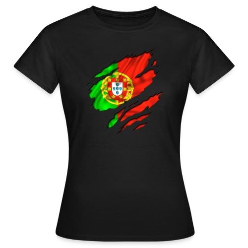 Portugal T-shirt fille - T-shirt Femme
