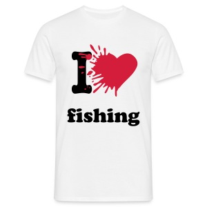 Männer T-Shirt - angel,angel-shirts.de.vu,angeln,angeln in hamburg,fische,fischen,fish,fishing,fun,funny,klamotten,shop,t-shirt,the-kingfishers.de