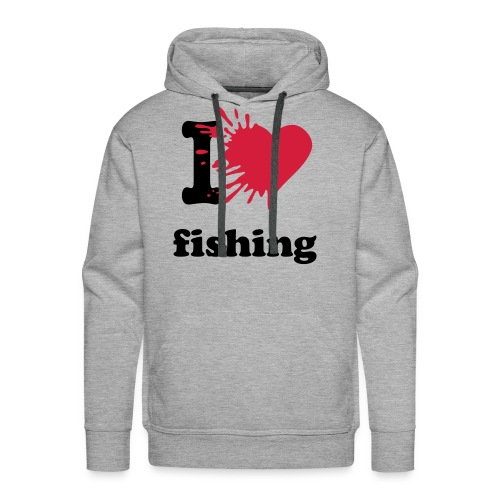 Männer Premium Hoodie - angel,angel-shirts.de.vu,angeln,angeln in hamburg,fische,fischen,fish,fishing,fun,funny,klamotten,shop,t-shirt,the-kingfishers.de