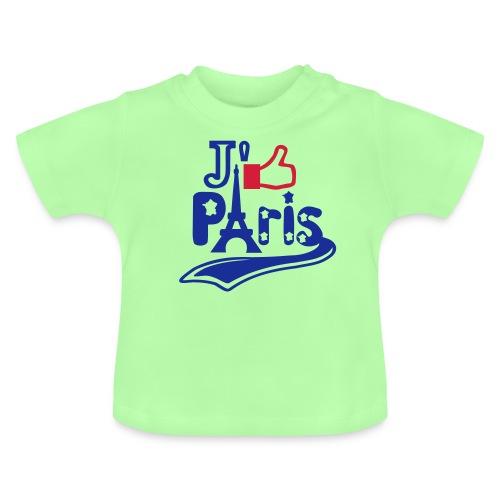 je like Paris tattoo et la tour Eiffel Tee shirts Bébés - T-shirt Bébé