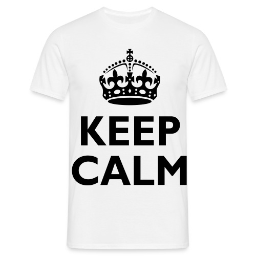 Kepp Calm shirt  - Men's T-Shirt