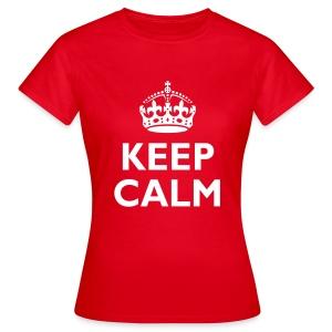 'Keep Calm' Women's T-Shirt - Women's T-Shirt