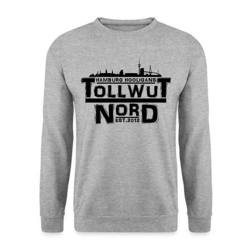 TOLLWUT NORD HAMBURG HOOLIGANS LOGO Pullover  (Weiß) - Männer Pullover