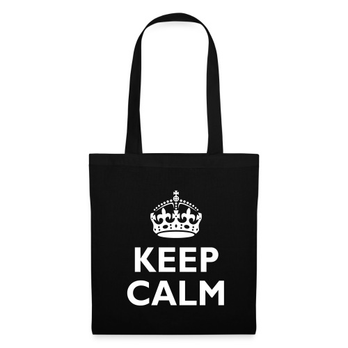 'Keep Calm' Tote Bag - Tote Bag