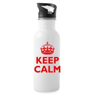 'Keep Calm' Water Bottle - Water Bottle