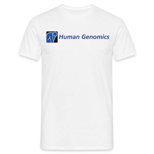 men's t-shirt human genomics - Men's T-Shirt