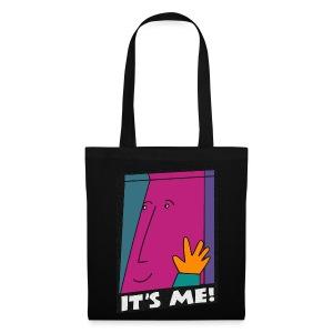 comic / IT'S ME!   Stofftasche - Stoffbeutel