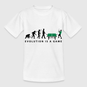 evolution_table_tennis_072012_c_2c Kinder T-Shirts - Teenager T-Shirt