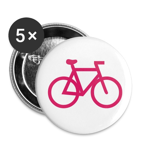 LOT DE 5 BADGES Diamètre 25mm - Badge petit 25 mm