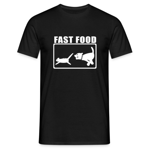 Herre - Fast Food - Herre-T-shirt
